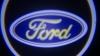 Светодиодный проекционный логотип FORD (комплект 2шт и фреза)
