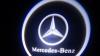 Светодиодный проекционный логотип MERCEDES (комплект 2шт и фреза