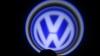 Светодиодный проекционный логотип VOLKSWAGEN (комплект 2шт и фре