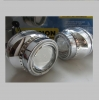 Биксеноновые линзы G3 неон ангел глаз+LED (J-POWER) H4 5000К