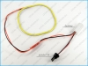 Светодиодный ангельский глаз LX LASER LED S (прямоугольный, белы