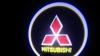 Светодиодный проекционный логотип MITSUBISHI (комплект 2шт и фре