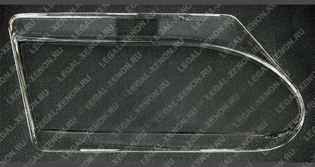 Комплект из двух поликарбонатных стекол для замены штатных рифленых при монтаже моно- и биксеноновых линзовых модулей.